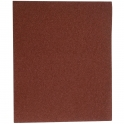 Papier abrasif corindon - 230 x 280 mm - Grain 40 - Support toile - SIA Abrasives