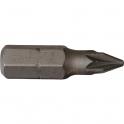 Embout trempe dure Pozidriv PZ1 -  - 25 mm - Riss