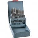Taraud à main acier HSS - Coffret de 21 pièces - Riss