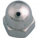 Écrou borgne zingué - Ø 5 mm - Boîte de 200 - Viswood