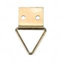 Crochet à tableau triangulaire sur platine - Guitel