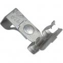 Clip pour tige filetée - Femelle M8 - Profilé 2 à 4 mm - Plombelec