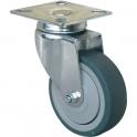 Roulette à platine pivotante - Ø 50 mm - Série S14 - Caujolle
