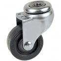 Roulette à œil pivotant  - Ø 30 mm - Série S20 - Caujolle