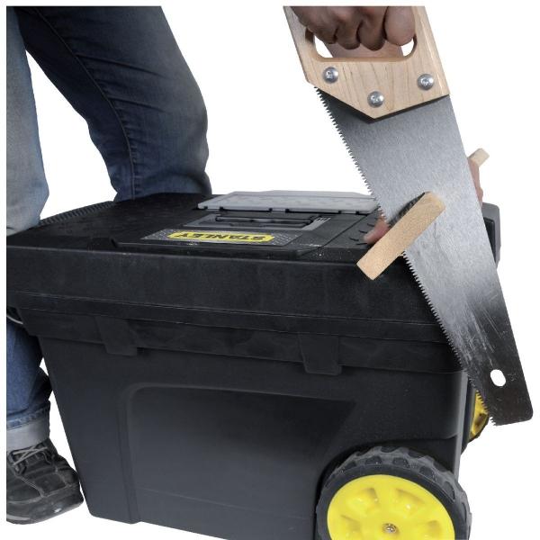 coffre roulant de chantier contractor stanley cazabox