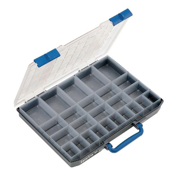 coffret plastique 25 rangements raaco cazabox. Black Bedroom Furniture Sets. Home Design Ideas