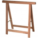 Tréteau pliable en bois hêtre - Sélection Cazabox