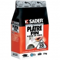 Sac de plâtre fin 5 kg - Sader