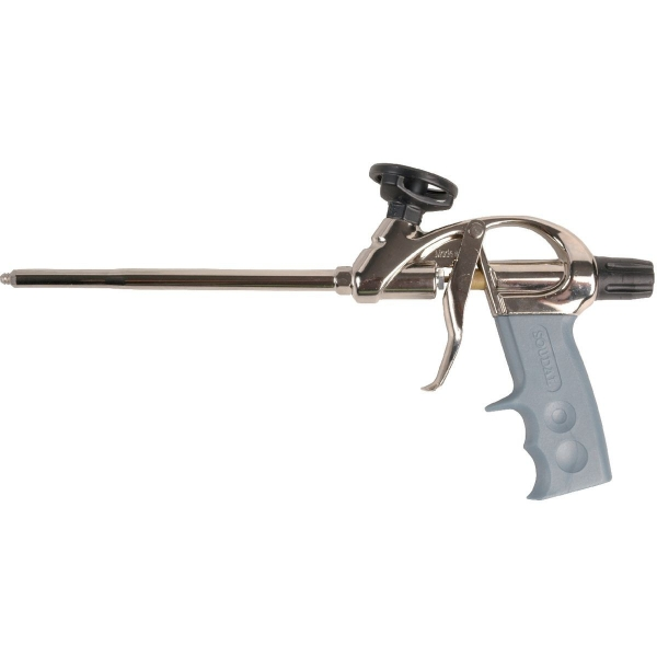 pistolet pour mousse pu gun vis soudal cazabox. Black Bedroom Furniture Sets. Home Design Ideas
