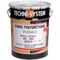 Vernis polyuréthane de finition satiné 60 - 5 L - Polistyl 2061 - Techni System