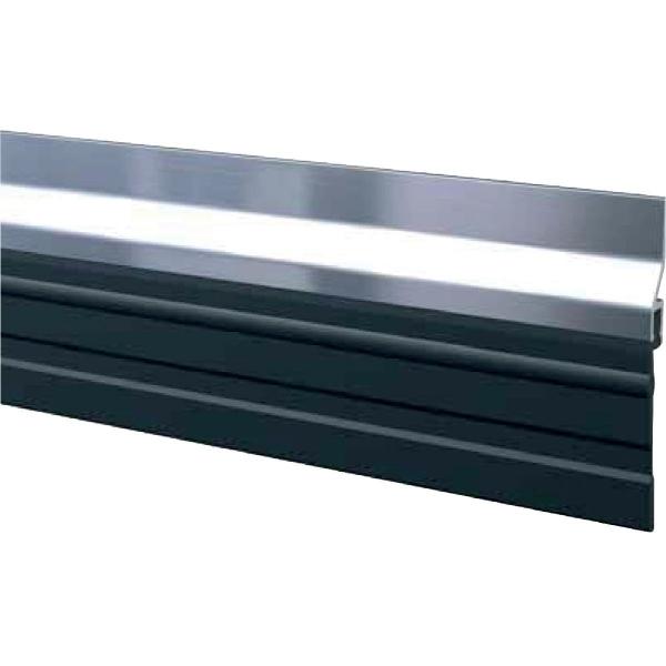 plinthe aluminium grande bavette 2 5 m bas de porte