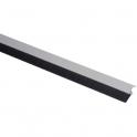 Plinthe aluminium avec brosse - 1 m - Bas de porte - IDS-B - Ellen