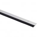 Plinthe plastique blanche à brosse - 0,93 m - Bas de porte - Jourjon