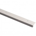 Plinthe blanche à brosse souple - 1 m - Bas de porte - PDS-B - Ellen