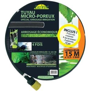 Tuyau d 39 arrosage micro poreux 15 m cap vert cazabox - Tuyau arrosage poreux ...