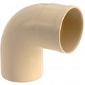 Coude 87°30 M/F sable - diamètre 80 mm - Girpi