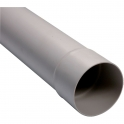 Tube de descente gris - diamètre 80 mm - Girpi