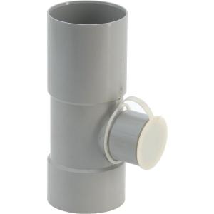collecteur eau de pluie gris diam tre 80 mm girpi cazabox. Black Bedroom Furniture Sets. Home Design Ideas