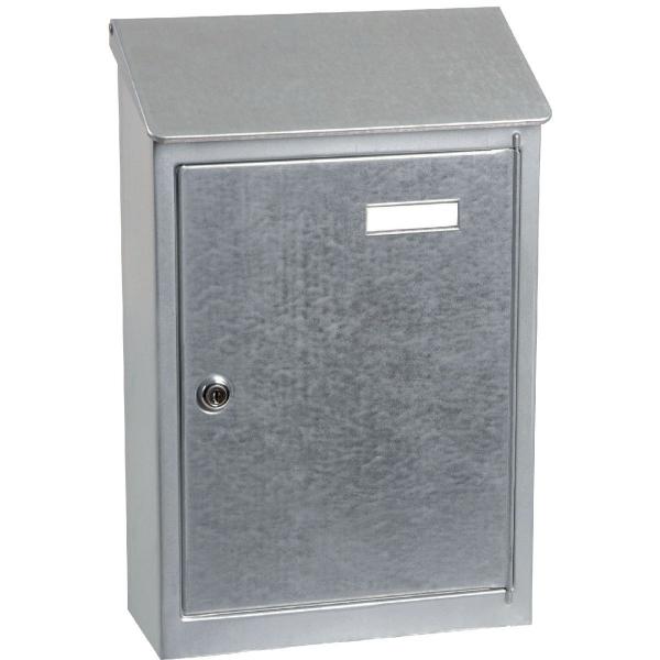 bo te aux lettres en acier galvanis pavillon decayeux cazabox. Black Bedroom Furniture Sets. Home Design Ideas
