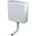 Réservoir semi bas avec coude - Double débit - AP 140 - Geberit
