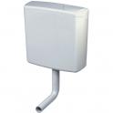 Réservoir semi bas avec coude - Simple débit - AP 140 - Geberit