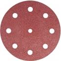 Disque auto-agrippant 8 trous - Ø 125 mm - Grain 60 - Rubin2 - lot de 10 - Festool