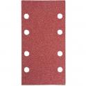 Feuille auto-agrippante 8 trous - 80 x 133 mm - Grain 40 - StickFix - Lot de 10 - Festool