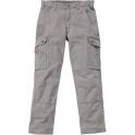 Pantalon gris clair - Cargo B342 - Carhartt