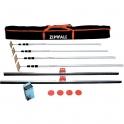 Pack perches télescopiques ZIPWALL® - Sélection Cazabox