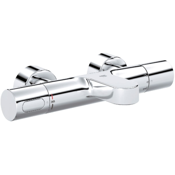 Mitigeur bain douche thermostatique mural entraxe 150 mm - Mitigeur bain douche thermostatique grohe ...