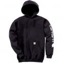 Sweat à capuche noir - K288 - Carhartt
