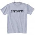 T-Shirt gris manches courtes - Carhartt