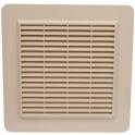 Grille de ventilation avec grille anti insectes - couleur sable - Nicoll