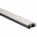 Plinthe automatique blanche - 0,83 m - En applique - PLA 400 - Duval