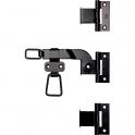 Accessoires d'espagnolette plate noir - 1,50 à 2 m - Jardinier massard