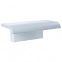 Tablette de douche blanche seul - 97 x 230 x 78 mm - Arsis - Pellet ASC