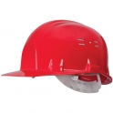 Casque de chantier rouge - Earline