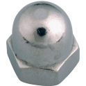 Écrou borgne Inox - Ø 10 mm - Boîte de 50 - Viswood