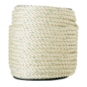 Bobine de corde nylon blanche - Ø 8 mm - Corderies Tournonaises