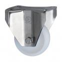Roulette Mécaninox fixe D 125 mm - Caujolle
