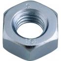 Écrou hexagonal zingué - Ø 10 mm - Boîte de 100 - Viswood