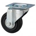Roulette Manu-Roll pivotante D 200 - Caujolle