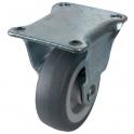 Roulette à platine fixe - Ø 42 mm - Série S18 - Caujolle