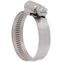 Collier bande non perforée W4 inox - 12 mm - Serrage 16 - 27 mm - Boîte de 25 pièces - Ace