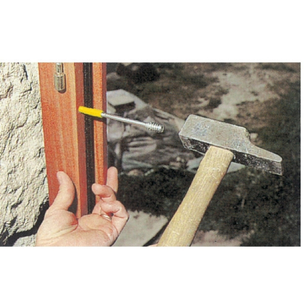 cheville visser menuiserie bois 6 mm 100 mm vis. Black Bedroom Furniture Sets. Home Design Ideas