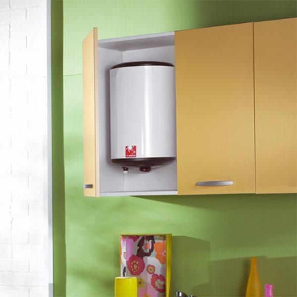 chauffe eau sur vier 30l monophas 2000 w atlantic cazabox. Black Bedroom Furniture Sets. Home Design Ideas