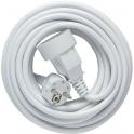 Rallonge câble souple blanc 10 M - Dhome