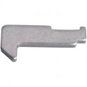 Crochet - 36 mm - Pour fermeture encastrée - La croisée DS