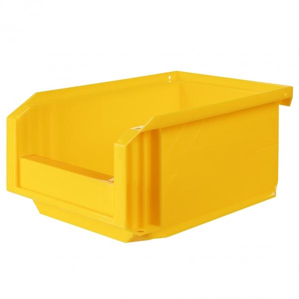 Bac Bec Empilable : Bac jaune empilable l novap cazabox