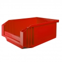 Bac rouge empilable - 23 L - Novap